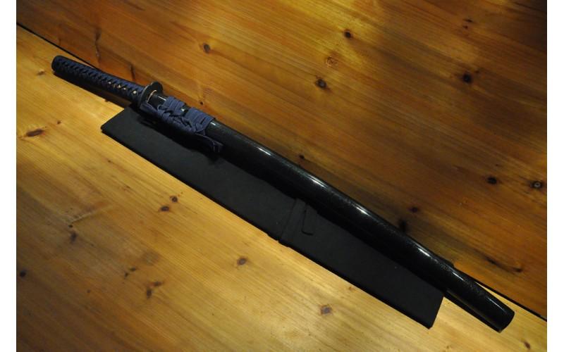 High Quality Dotanuki Mokko Tsuba Higo Fittings Real Silk Ito Bohi Japanese Sword