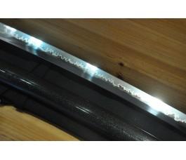 High Quality Shinogi Zukuri Choji Hamon Nami koshirae Japanese Sword Katana