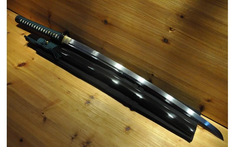 Hand Forged Oil Quenched TH Unokubi Zukuri Hishi-Gami Shinken Mat Cutter