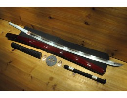 High Quality Higo O kissaki Dotanuki Real silk ito Choji Japanese Sword