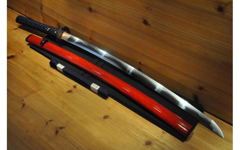 High Quality Higo O kissaki Dotanuki Mokko Tsuba Notare Hamon Japanese Sword